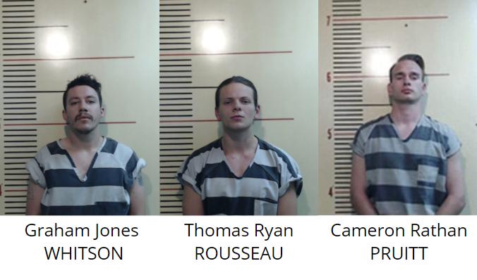 rousseau whitson pruitt parker county arrest texas patriot front